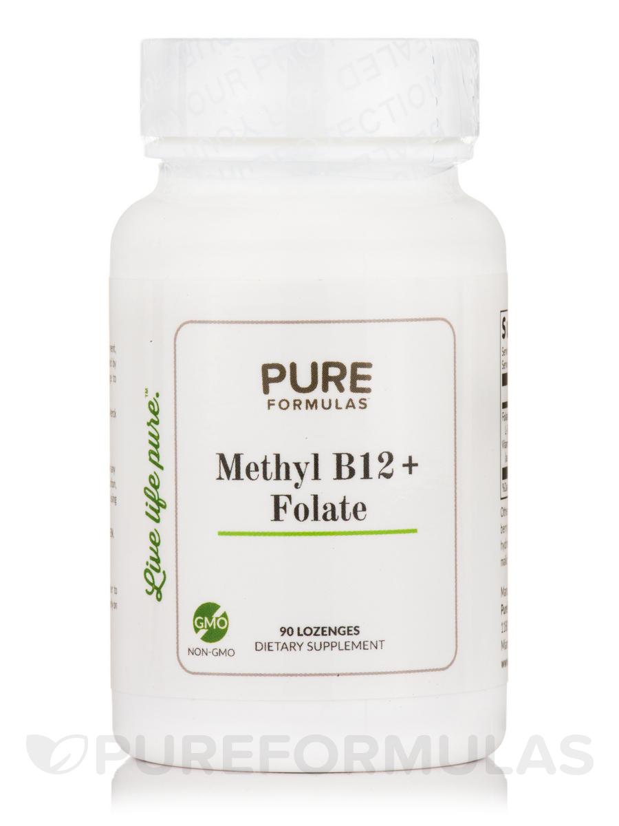 Methyl B12 + Folate - 90 Lozenges