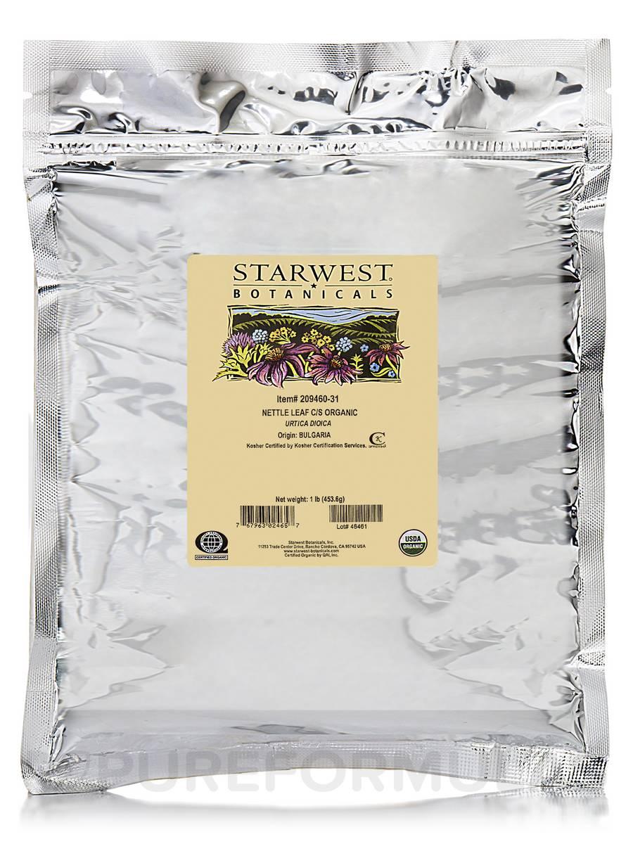 Organic Nettle Leaf Cut & Sift