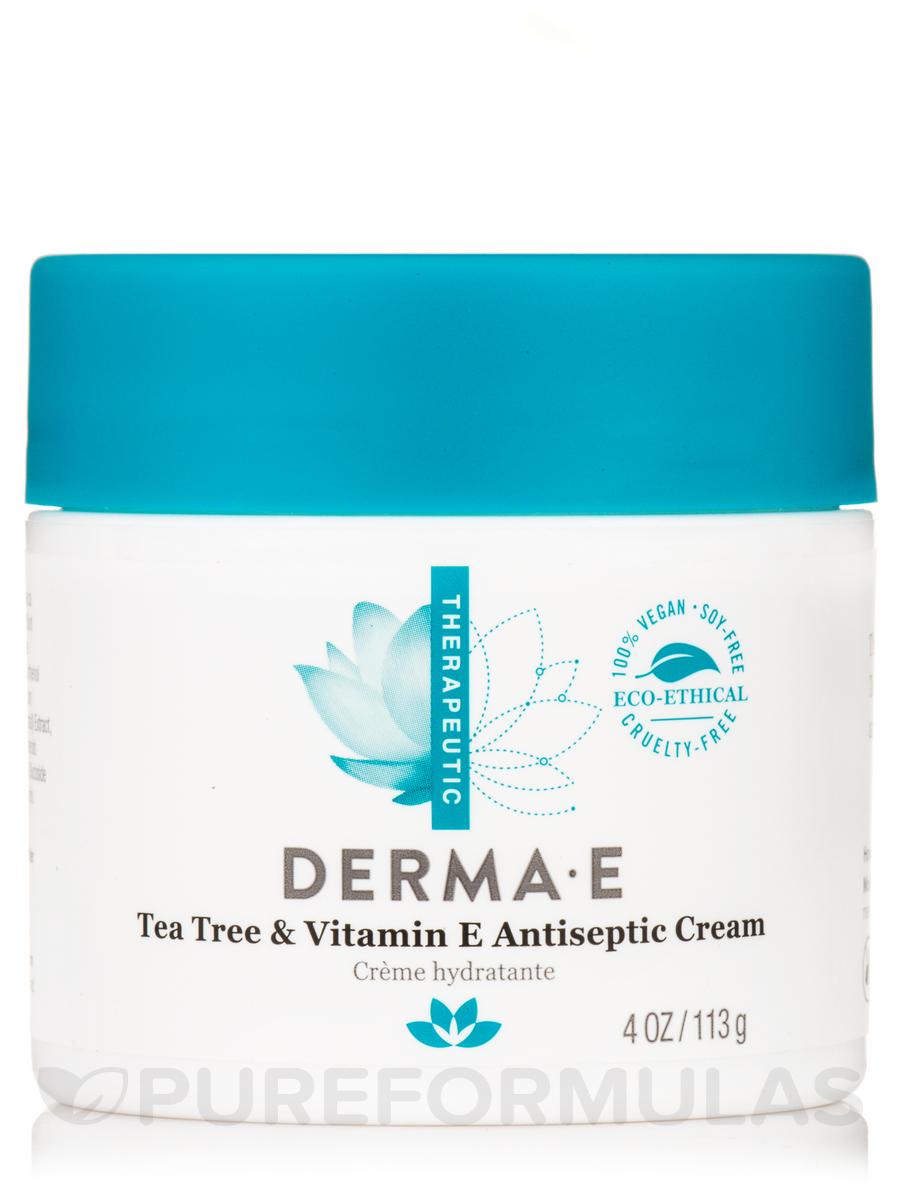 Tea Tree and Vitamin E Relief Cream - 4 oz (113 Grams)