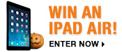 WIN AN IPAD AIR - ENTER NOW!